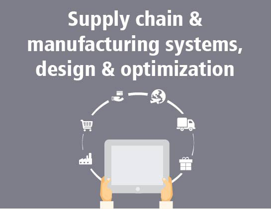 Supply chain & manufacturing systems, design & optimization